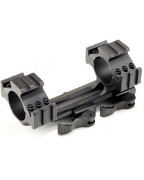 Cantilever Quick-Release Scope Mount w/Picatinny Rails